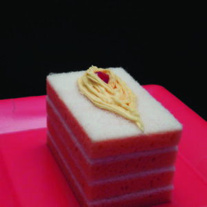 Cherry Sponge Cake by Steve Baskin
